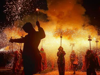 """2n premi - """"Fi de la festa major- Diables del Pla"""" - Isidre Coll Recasens"""