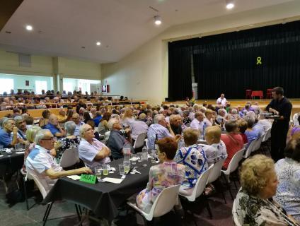 El dinar de germanor de la Diada de la Gent Gran, al Centre Cívic