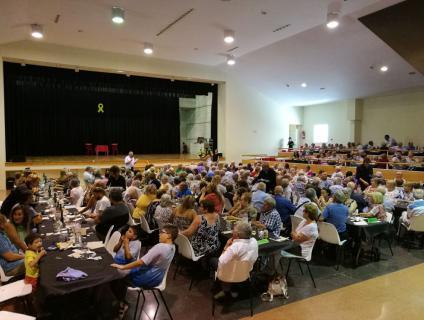 Al dinar de germanor hi van assistir més de 300 persones
