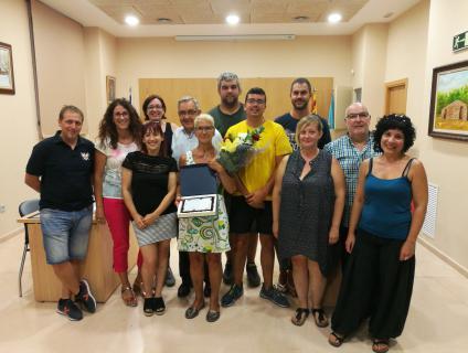 La Corporació Municipal va homenatjar Asun García amb motiu de la seva jubilació