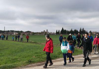 Excursió a la mina d'aigua organitzada per La Xiruca Foradada el març del 2017