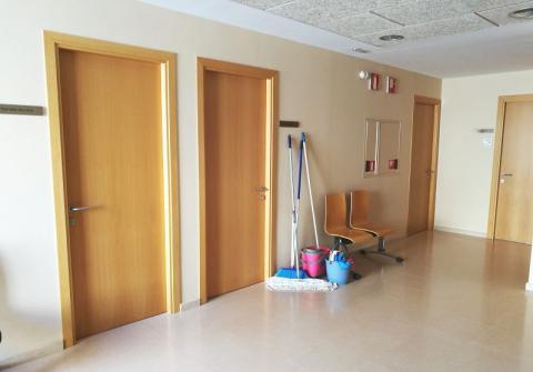 El servei de neteja s'ocupa dels edificis municipals