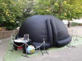 El Planetari mòbil serà diumenge a la tarda a la Fira del Vent